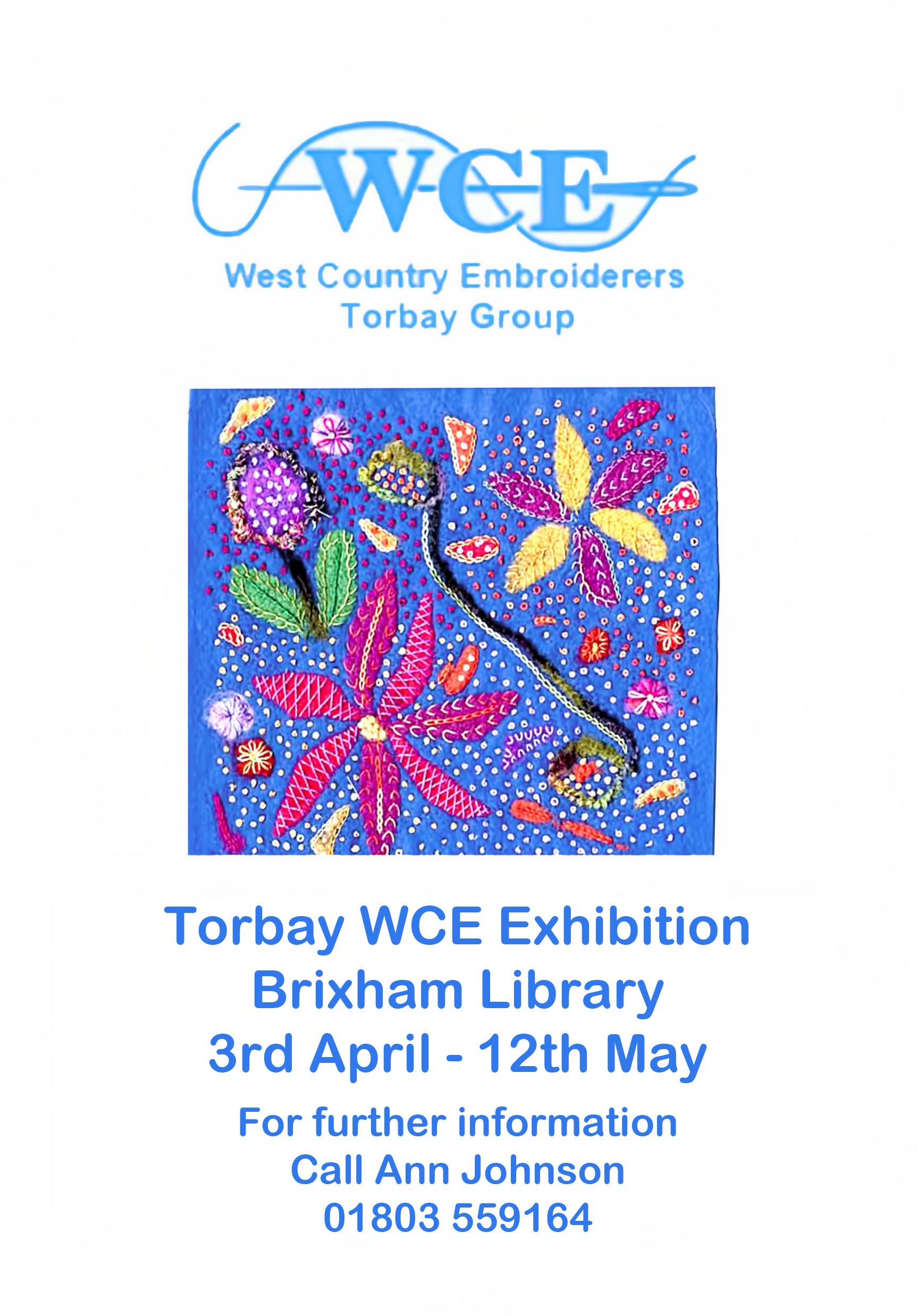Torbay WCE Exhibition, Brixham. 3-12th May 2017