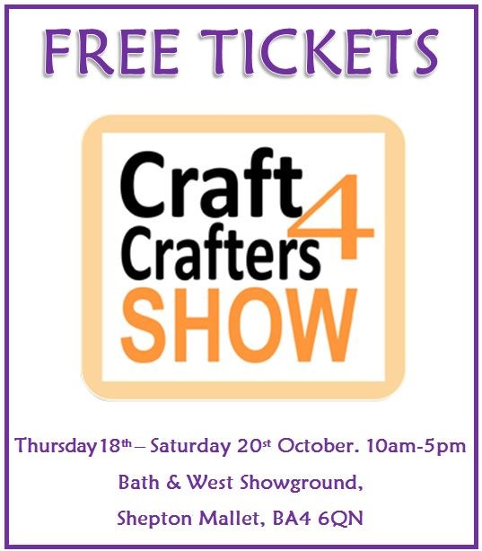 Free Tickets Craft4Crafters Quilt, Textile and Crafting Exhibition