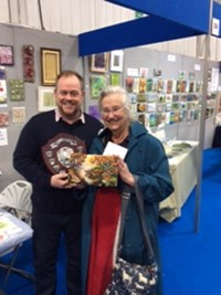 Winner of the 2019 Competition at Craft4Crafters, Exeter