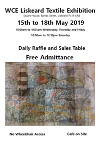Liskeard Exhibition 15th - 18th May 2019