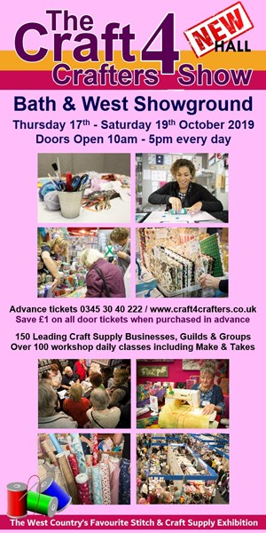 Craft4Crafters 17th-19th October
